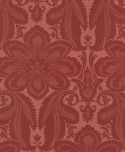 Little Greene Albemarle St Flame Wallpaper
