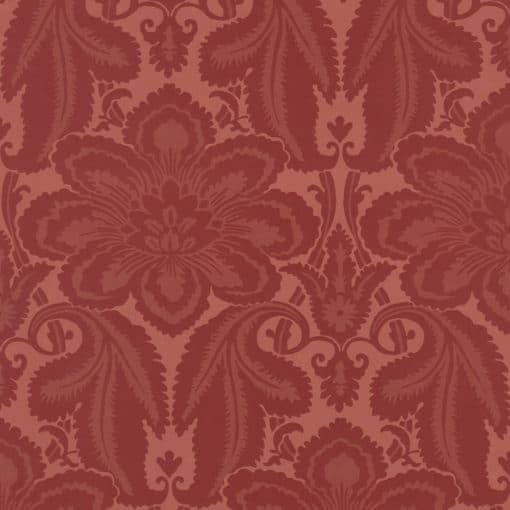 Little Greene Albemarle St Flame Wallpaper