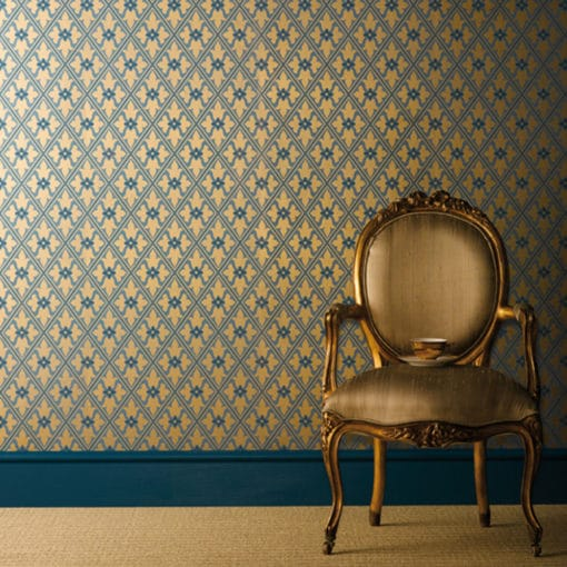 Little Greene Bayham Abbey Celestial Wallpaper
