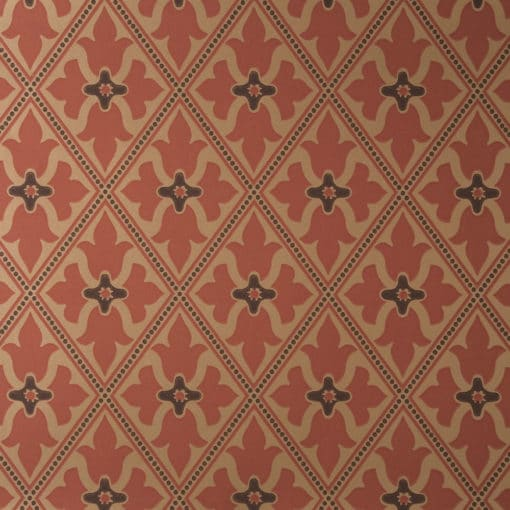 Little Greene Bayham Abbey Spanish Gold Wallpaper