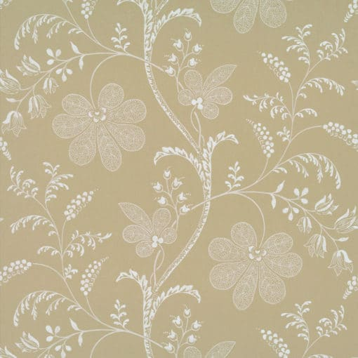 Little Greene Bedford Square Ecru Wallpaper