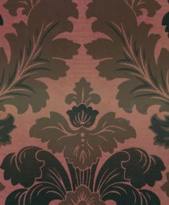 Little Greene Bonaparte Red Gold Wallpaper