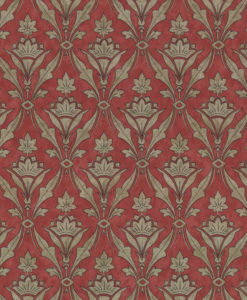 Little Greene Borough High St Beet Wallpaper