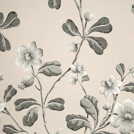 Little Greene Broadwick St Mono Wallpaper