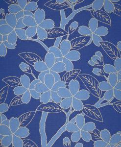 Little Greene Camellia Smalt Wallpaper