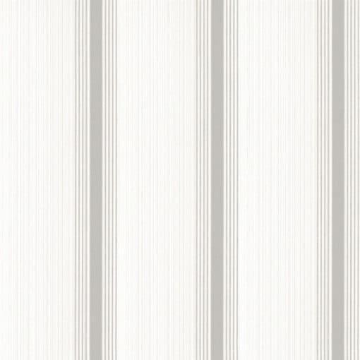 Little Greene Cavendish Stripe Brush Stone Wallpaper