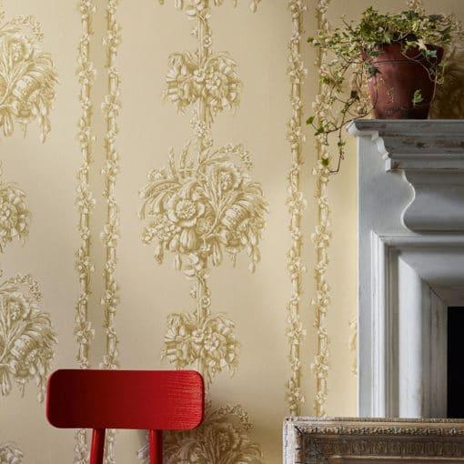 Little Greene Chelsea Bridge Halcyon Wallpaper