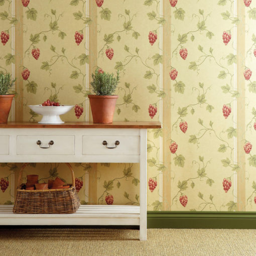 Little Greene Chesterfield St Beaujolais Wallpaper