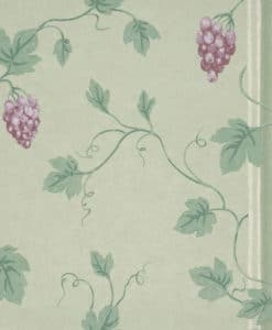 Little Greene Chesterfield St Merlot Wallpaper