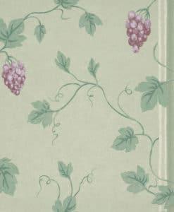 Little Greene Chesterfield St Merlot Wallpaper