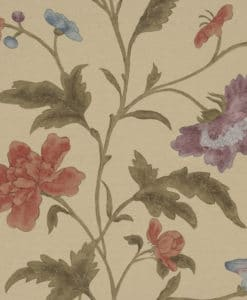 Little Greene China Rose Bronze Wallpaper