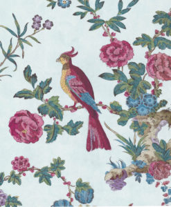 Little Greene Darwin Azure Wallpaper