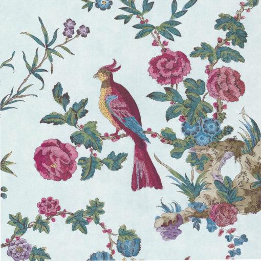 Little Greene Darwin Azure Wallpaper