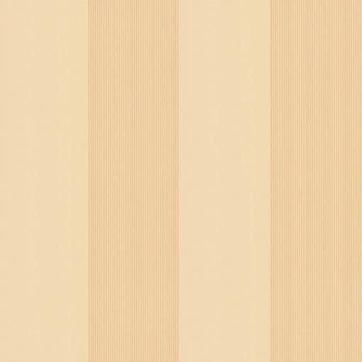 Little Greene Elephant Stripe Saffron Wallpaper