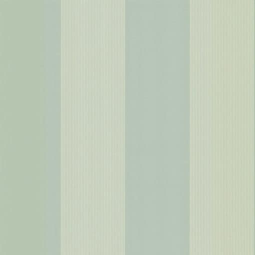 Little Greene Elephant Stripe Salvia Wallpaper