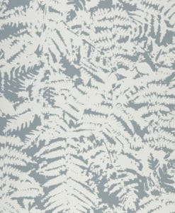 Little Greene Fern Sage Blue Wallpaper