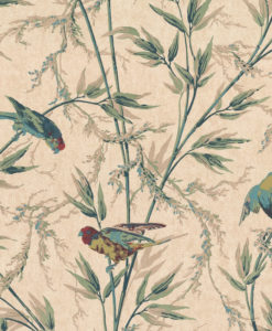 Little Greene Great Ormond St Parchment Wallpaper