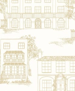 Little Greene Hampstead Cloister Wallpaper