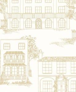 Little Greene Hampstead Cloister Wallpaper