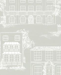 Little Greene Hampstead Cool Grey Wallpaper