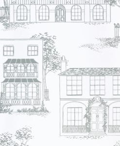 Little Greene Hampstead Glass Wallpaper