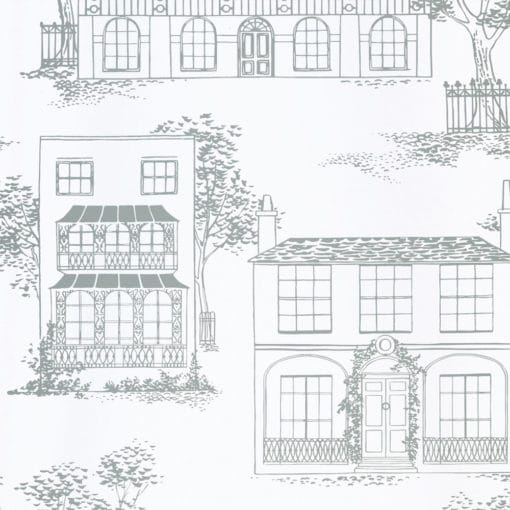 Little Greene Hampstead Glass Wallpaper