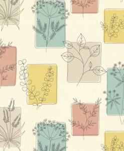 Little Greene Herbes Cocktail Wallpaper