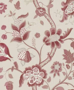 Little Greene High Street Rouge Wallpaper