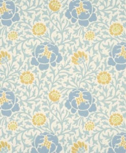 Little Greene Lansdowne Walk Marigold Wallpaper