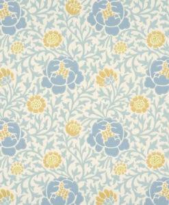Little Greene Lansdowne Walk Marigold Wallpaper