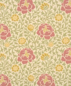 Little Greene Lansdowne Walk Rose Wallpaper