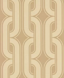 Little Greene Lavaliers Camel Wallpaper