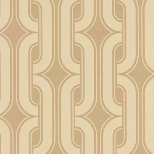 Little Greene Lavaliers Camel Wallpaper