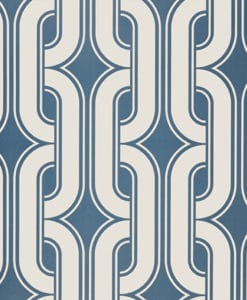 Little Greene Lavaliers Low Wave Wallpaper