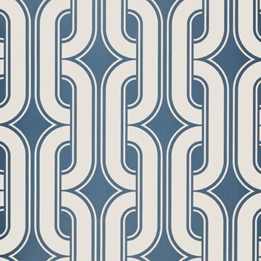Little Greene Lavaliers Low Wave Wallpaper