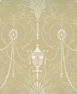 Little Greene Marlborough Champagne Wallpaper