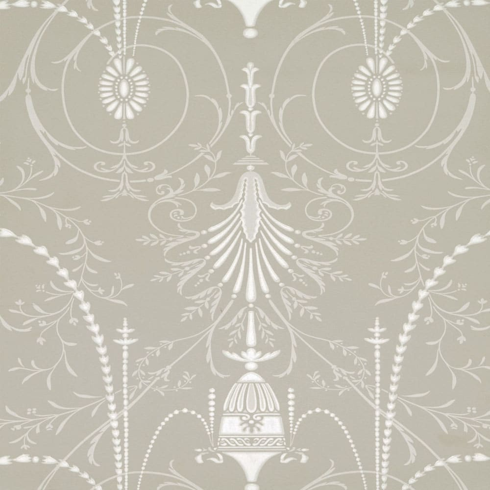 little greene marlborough paris grey wallpaper period home style. Black Bedroom Furniture Sets. Home Design Ideas