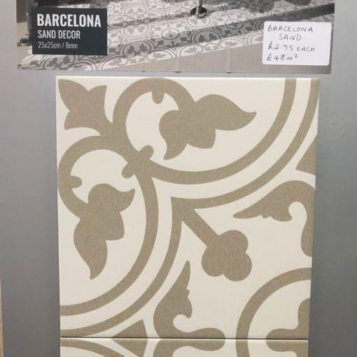 Barcelona Sand Porcelain Tile