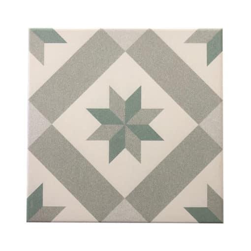 Barcelona Star Porcelain Tile (25 x 25cm)