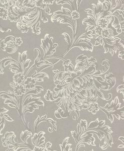 Little Greene North End Road Warm Silver Wallpaper