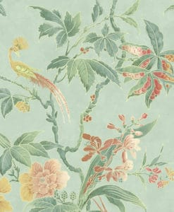 Little Greene Paradise Aquamarine Wallpaper