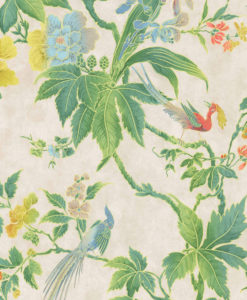 Little Greene Paradise Feather Wallpaper