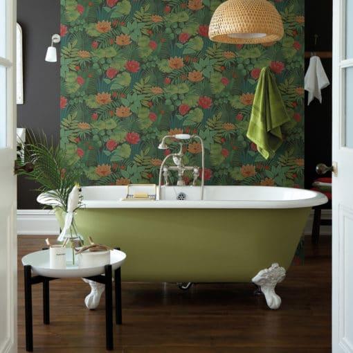 Little Greene Reverie Jungle Wallpaper