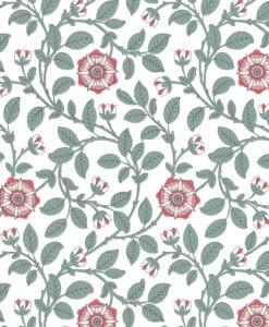 Little Greene Richmond Green Dorcas Wallpaper
