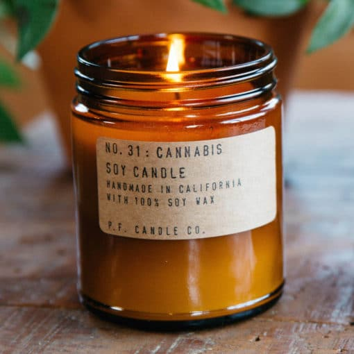 Cannabis Soy Candle