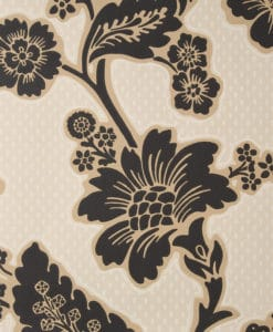 Little Greene Soho Square Jet Wallpaper