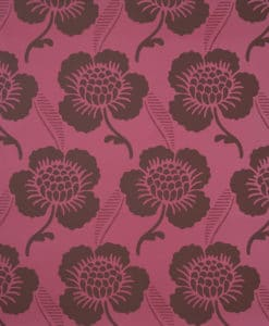 Little Greene St James's Place Cerise Wallpaper
