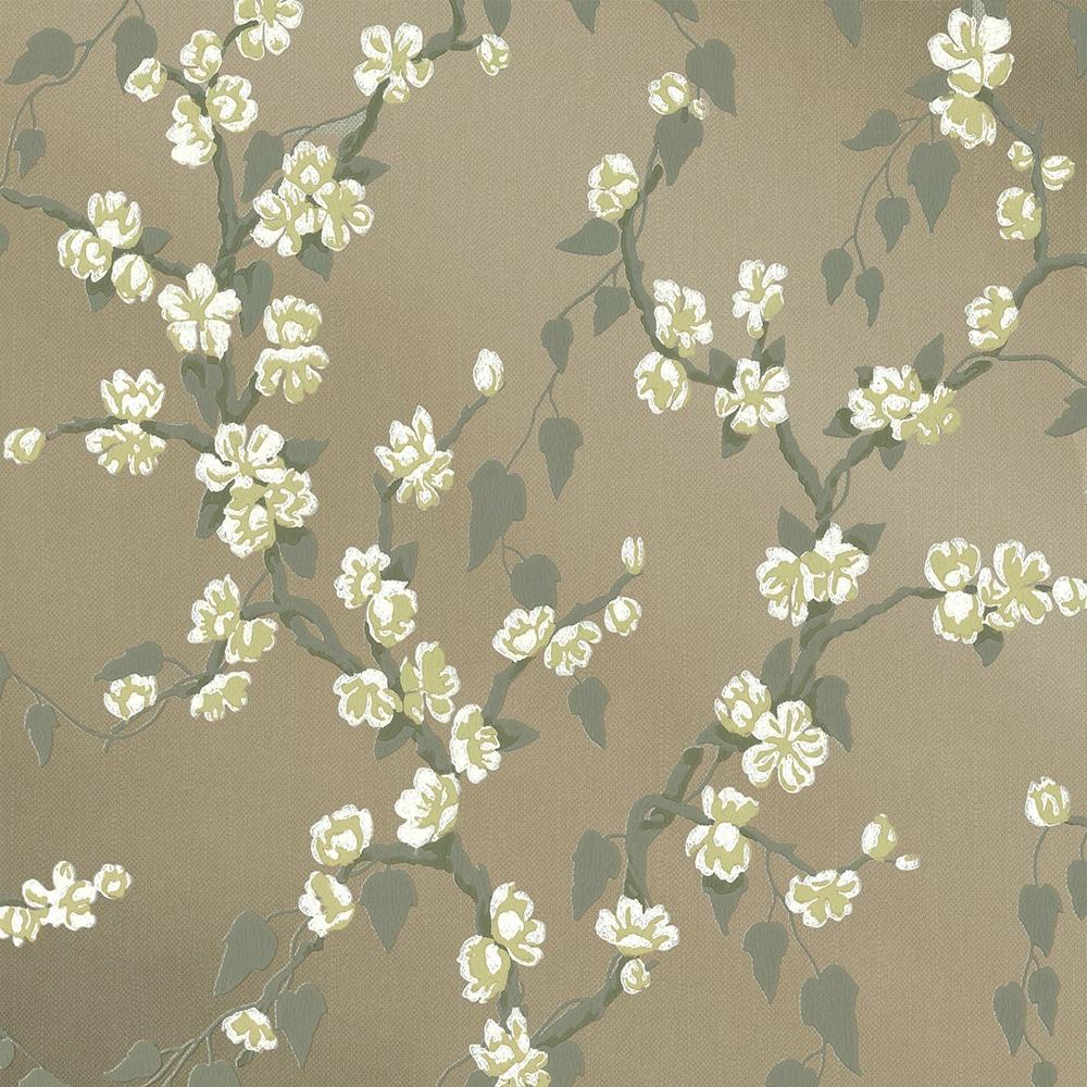 Little Greene Sakura Metal Lustre Wallpaper