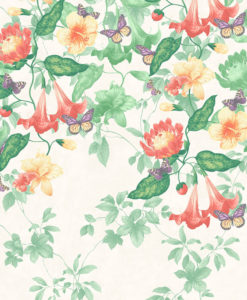 Little Greene Asterid Lantern Wallpaper