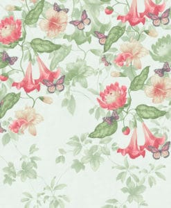 Little Greene Asterid Mint Wallpaper